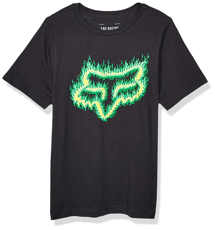 Fox Kids T-Shirt Flame Head Schwarz//Gr/ün