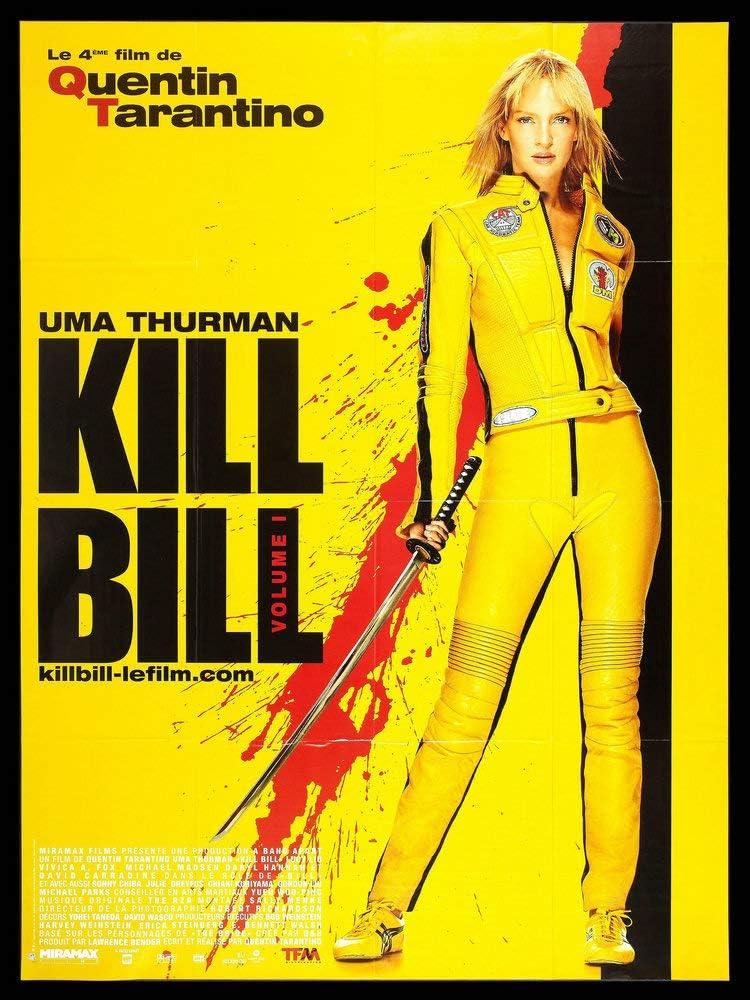 GZCJHP Kill Bill Classic Movie Art Silk Poster Canvas Print 13x20 24x36 inch for Room Decor Decoration-003 (20x30cm Canvas)