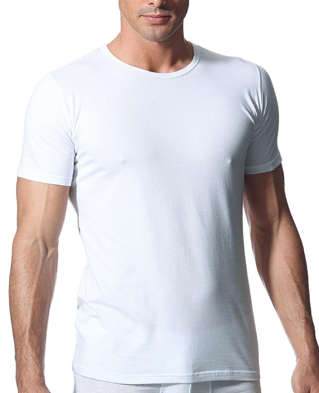 Pack 6 T-Shirt Uomo NOTTINGHAM Bianco / Assortito Cotone Art.700