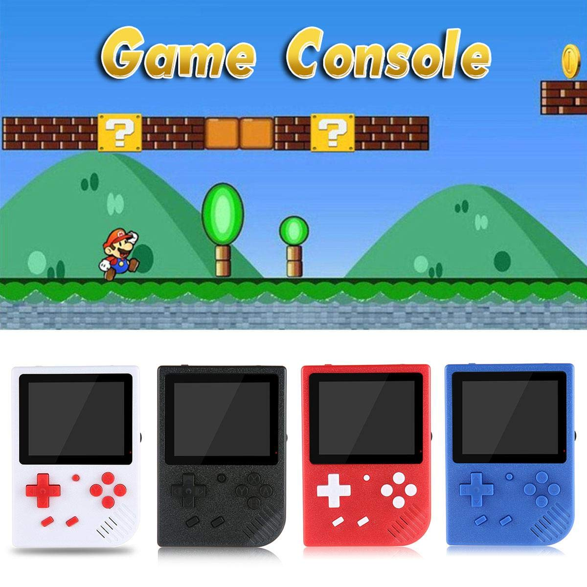 LAYOPO Retro Mini Handheld Video Game Console Gameboy Built-in 600 Classic Games Gift by LAYOPO (Image #5)