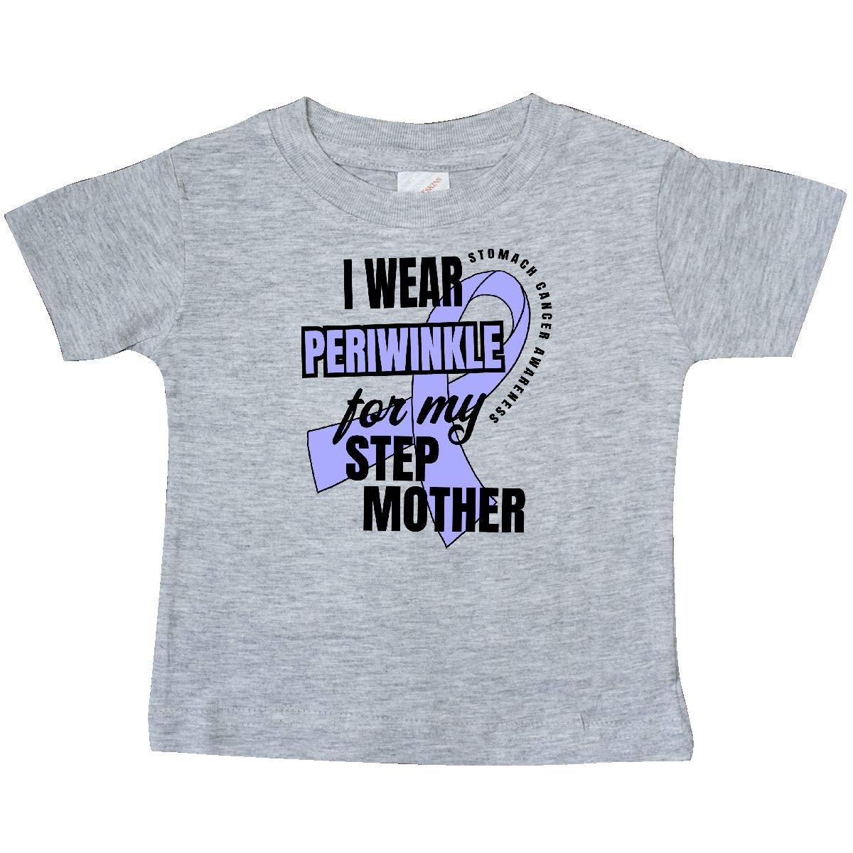 inktastic I Wear Periwinkle for My Step Mother Stomach Cancer Baby T-Shirt
