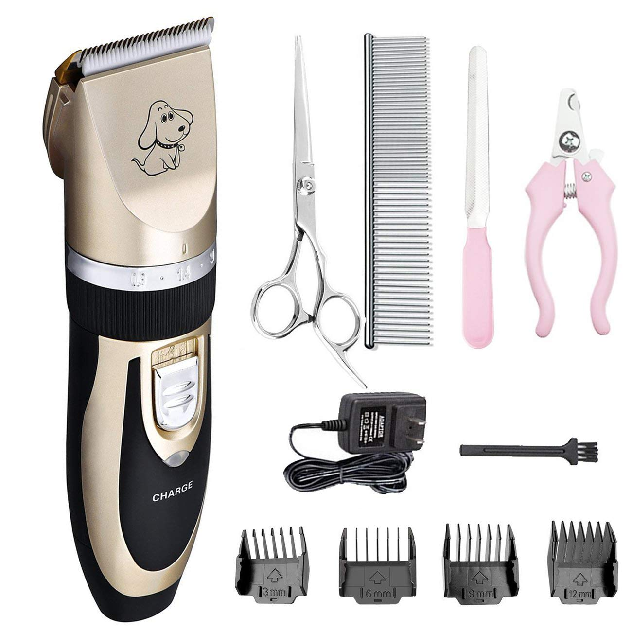 Amazon Pet Grooming Clipper Kits Low Noise Dog And Cat