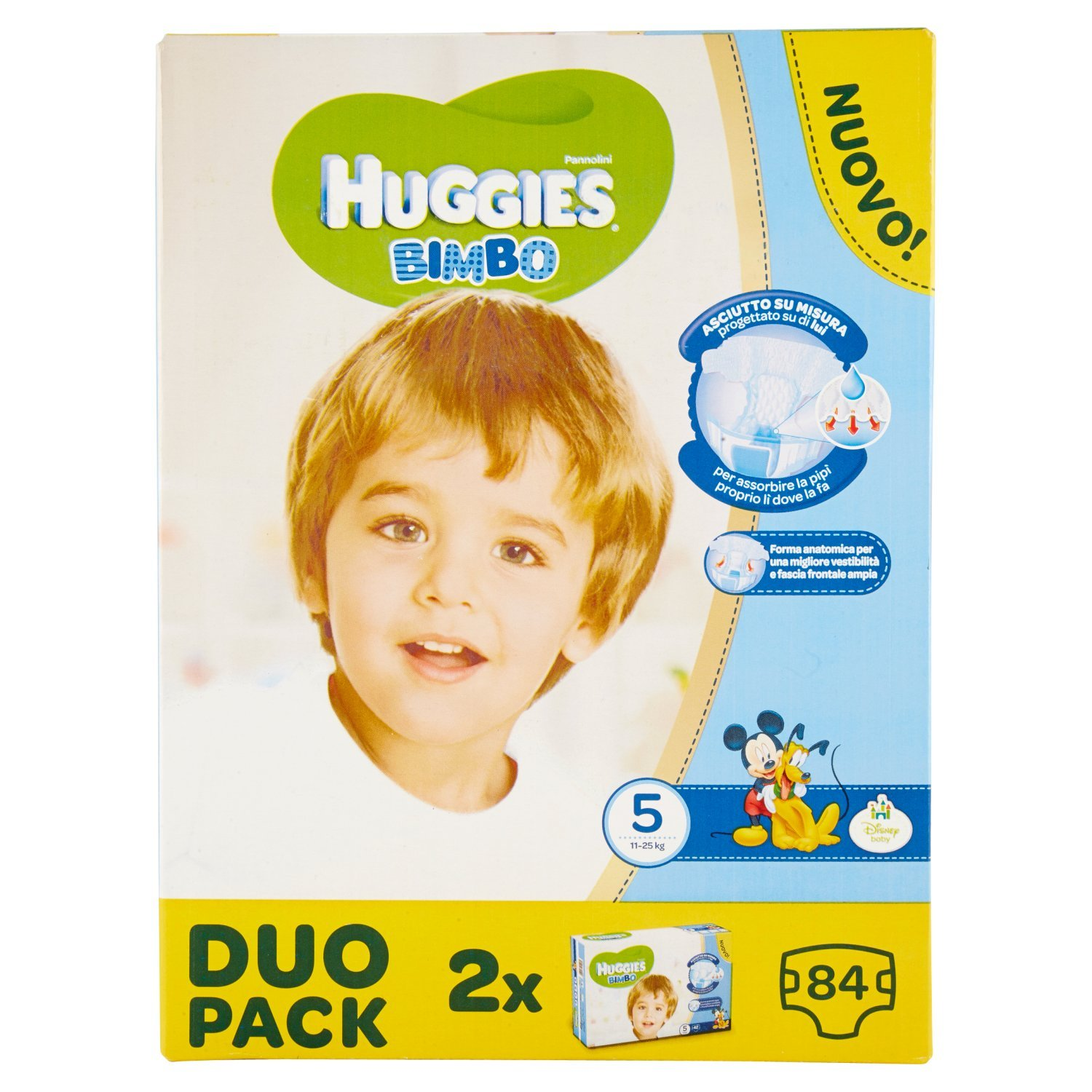 Huggies – Bimbo – Couches – Taille 5 (12 – 18 Kg) – 2 x 42 couches Kimberly Clark 02565921
