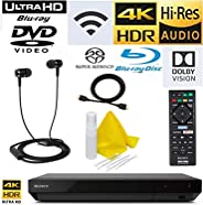 Sony UPB-X700 4K Blu Ray Player Ultra HD 3D Hi-Res Audio Wi-Fi Blu-ray Player with A 4K HDMI Cable and Remote Control (UPB X