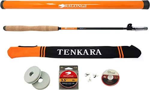 DRAGONtail MIZUCHI zx340 Zoom Small Stream 3 Length Tenkara Rod