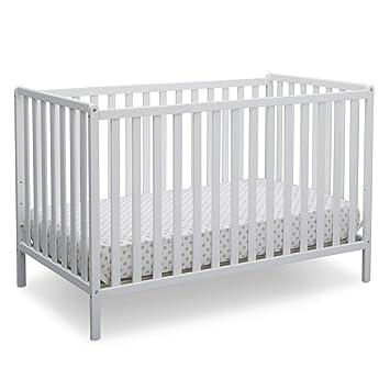 Amazon Com Delta Children Heartland 4 In 1 Convertible Crib Bianca White Baby