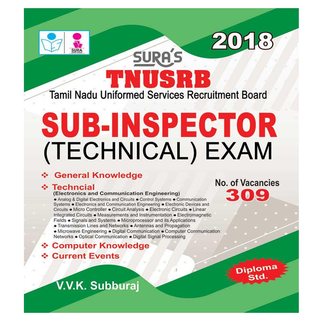 Buy TNUSRB Sub-Inspectors SI (Technical) Exam English Books