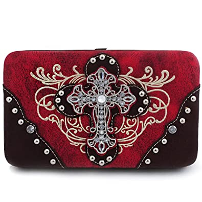 Amazon.com: Western Cross - Cartera de bordado: Shoes