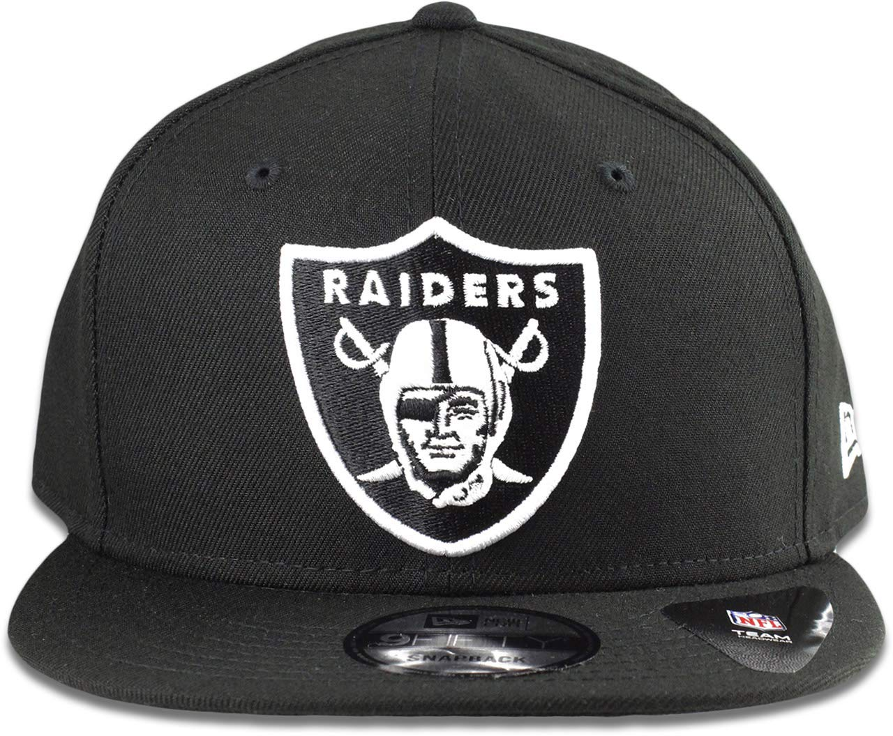 38dc16e5051 Amazon.com   New ERA NFL Oakland Raiders 950 Cap Limited Edition Black with  White   Sports   Outdoors