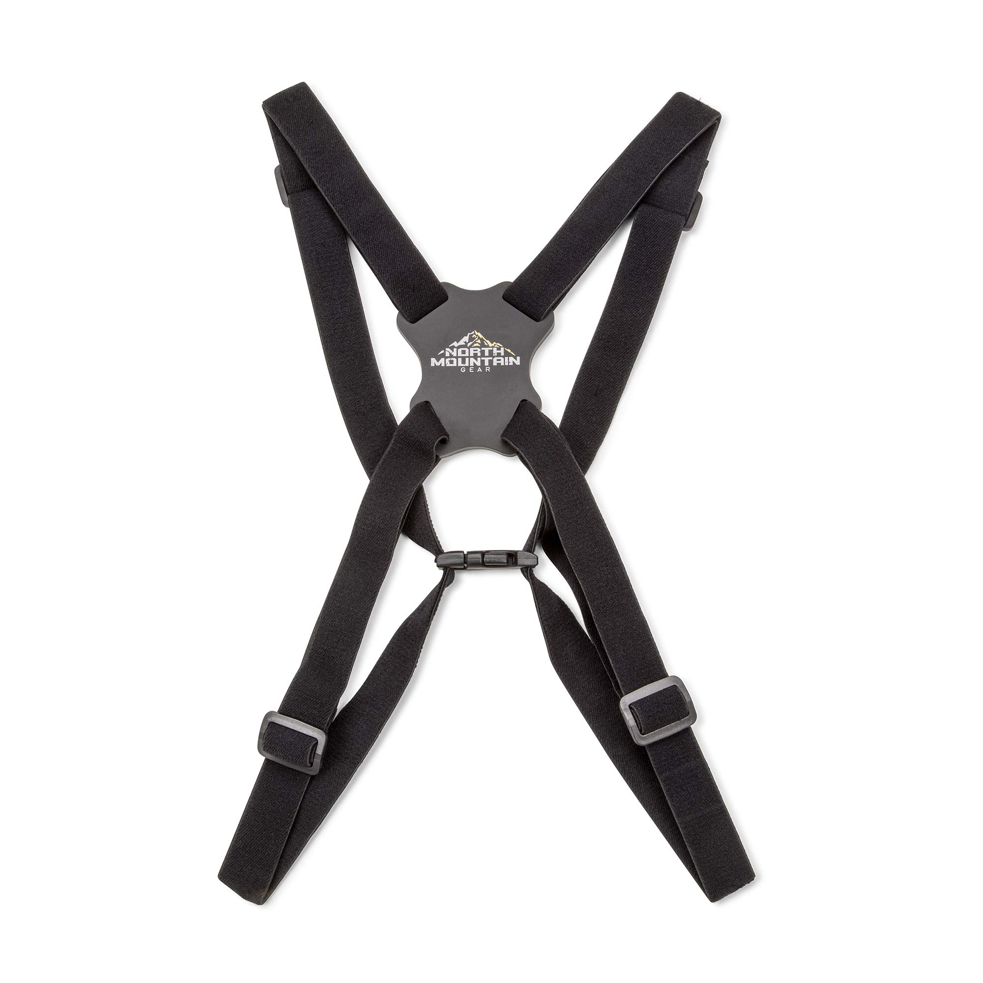 North Mountain Gear Binocular Harness Strap | 4 Way Adjustable with Quick Release Connectors by North Mountain Gear