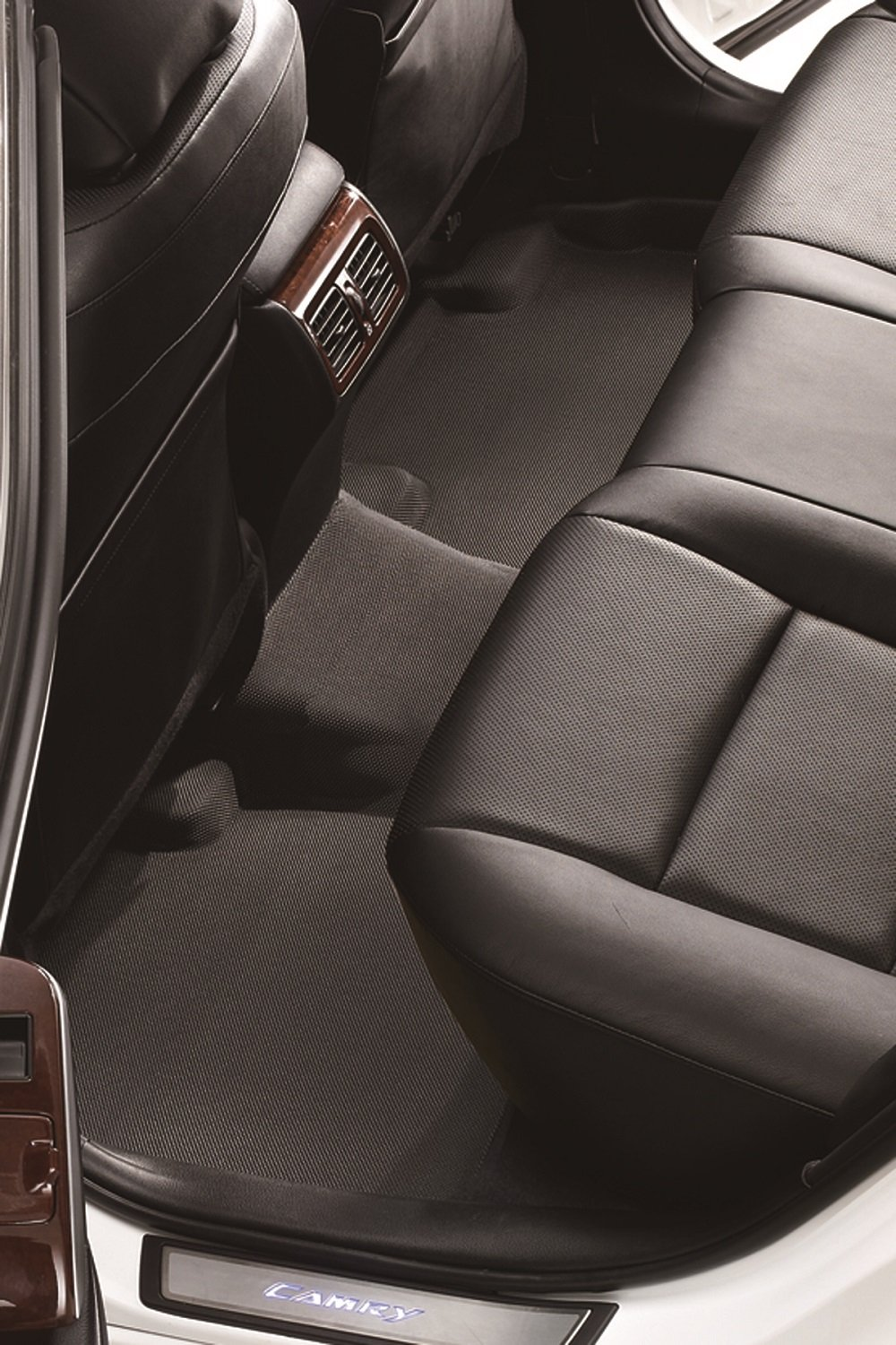 3D MAXpider Front Row Custom Fit Floor Mat for Select Scion XB Models Gray L1SC00511501 Kagu Rubber
