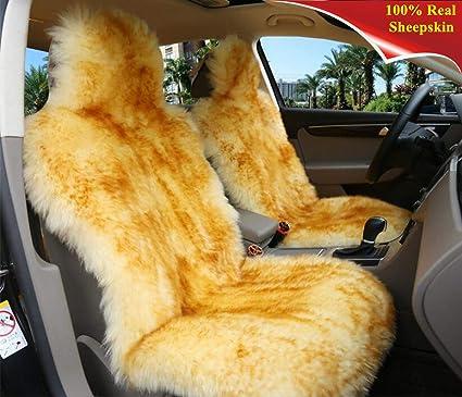 Amazon Com Sisha Winter Warm Authentic Australia Sheepskin Car Seat