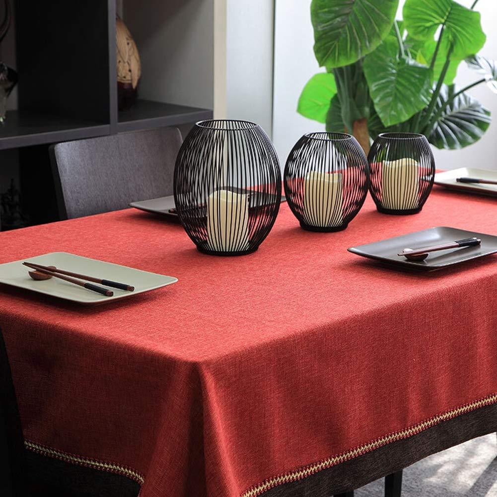 テーブルクロス、モダンなミニマリストのコーヒーテーブルのテーブルクロス、ファブリック長方形のテーブルクロスラウンドテーブルクロス,140*200cm 140*200cm  B07S51ZVQT