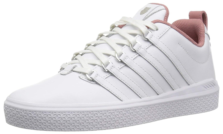 K-Swiss Damen Damen Damen Donovan Sneaker Weiß-old Rose (95632-121) 7d3776