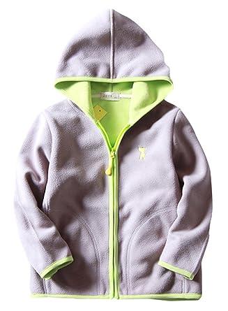 def0da01c Amazon.com  ZETA DIKES Little Girls Winter Jacket Warm Fleece ...