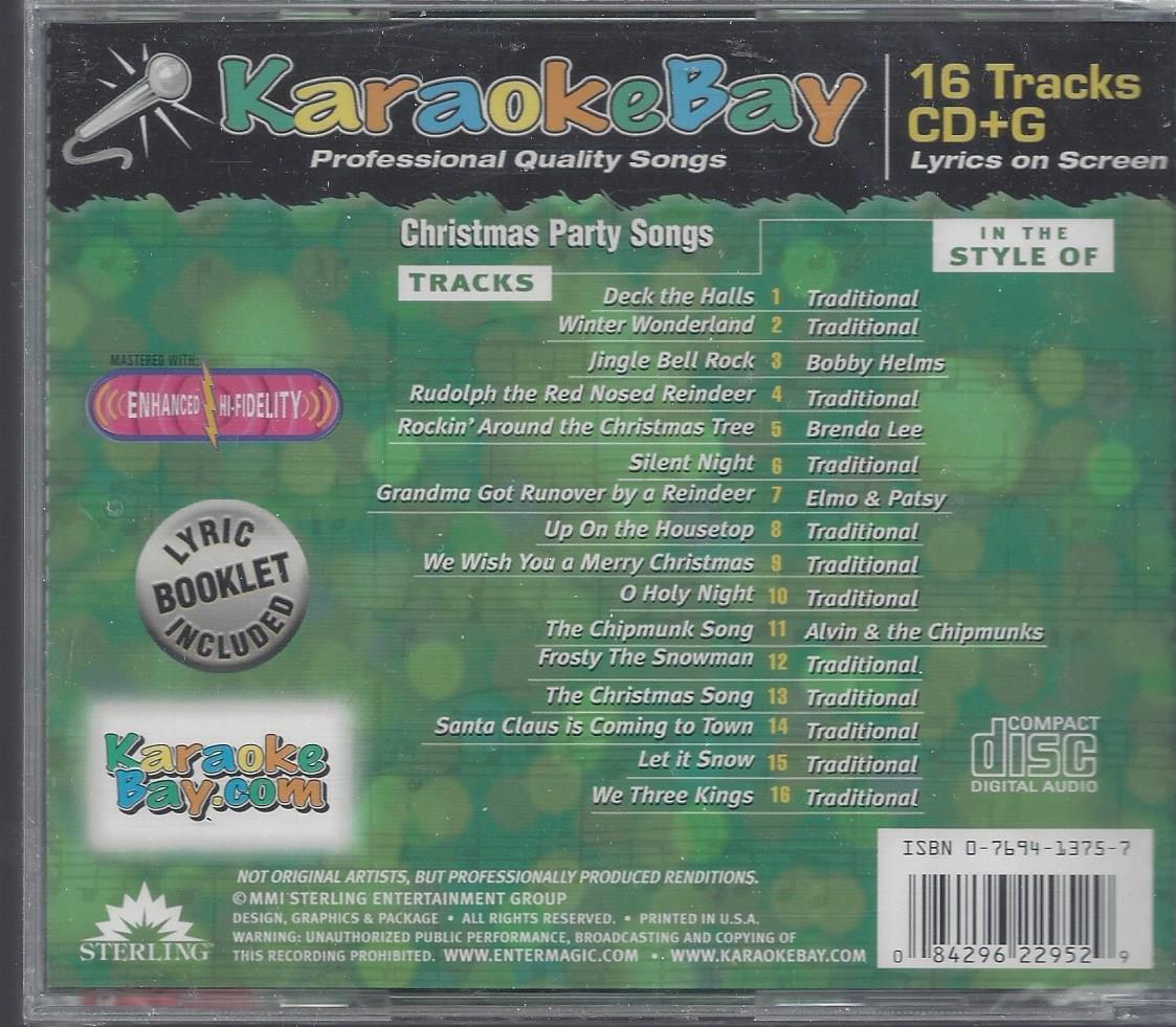 ANYONE - Christmas Party Songs Karaoke CD G - Amazon.com Music