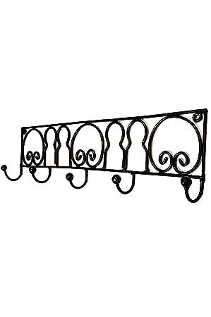 Vintage perchero gancho negro diyar 60 cm Grande gancho | 5 ...