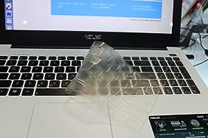 Leze - Ultra Thin Soft Keyboard Protector Skin Cover for ASUS ROG G501JW GL502VY GL502VT GL502VS GL502VM G550 GL551JW GL551JM GL551JX GL552VW GL702VM GL702VS Gaming Laptop - TPU