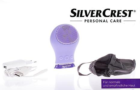 Silvercrest® afeitadora. cepillo de limpieza facial sgrs 3.7 A1 ...