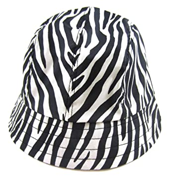Image Unavailable. Image not available for. Color  totes Zebra Print Bucket  Rain Hat 736b585a264