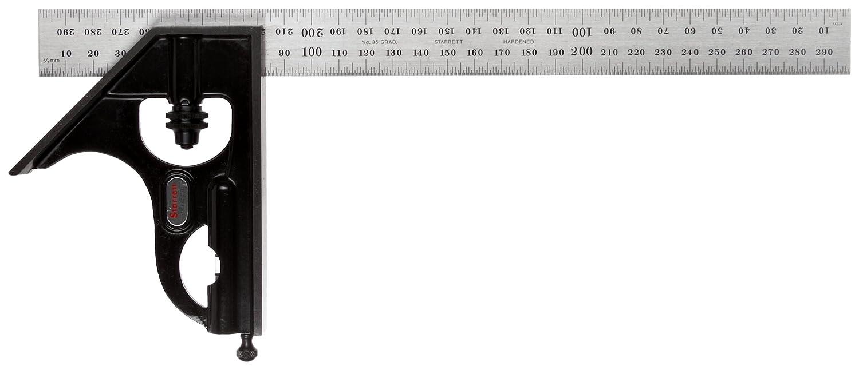 Starrett 33MH-300 - Regla (300 mm, mé trica) métrica)