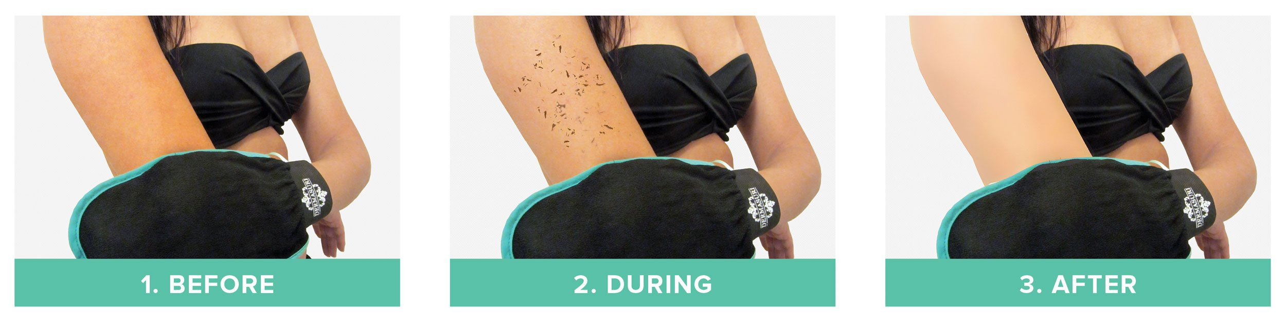 Dermasuri Deep Exfoliating Mitt Body Scrub by Dermasuri, Inc.