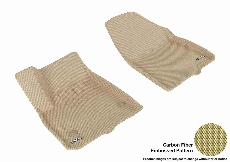 3D MAXpider L1CD01601501 Gray All-Weather Floor Mat for Select Cadillac Xt5 Models Complete Set