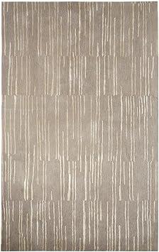 Amazon Com Jaipur Living Clinton Hand Tufted Abstract Gray Silver Area Rug 5 X 8 Furniture Decor