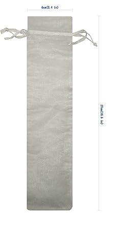 Amazon.com: Ankirol 100 bolsas de organza para abanico de ...