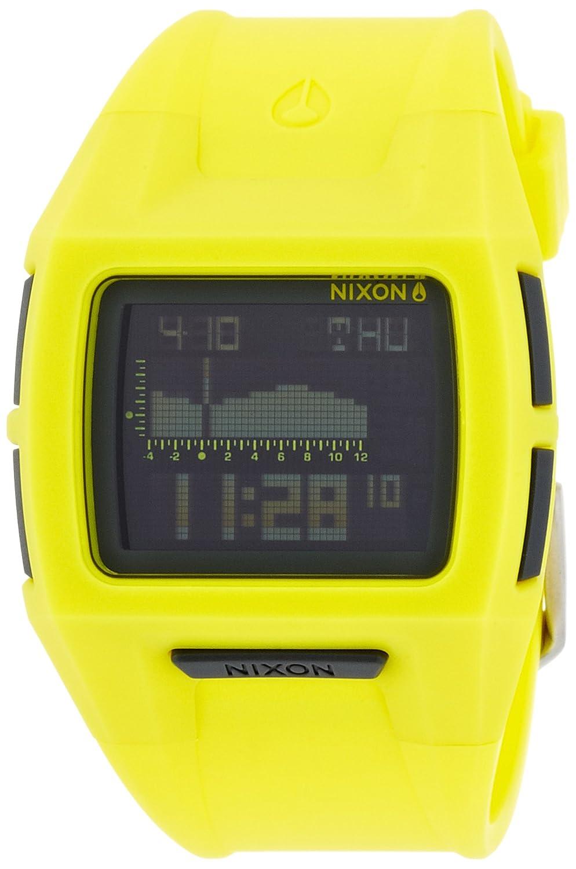 [ニクソン]NIXON LODOWN S: NEON YELLOW NA3641262-00 レディース 【正規輸入品】 B00GY52W0G