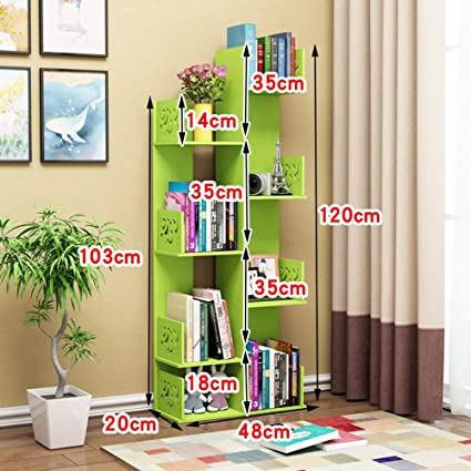 Amazon Shelves MEIDUO 8 Shelf Bookshelf Modern Bookcase Book