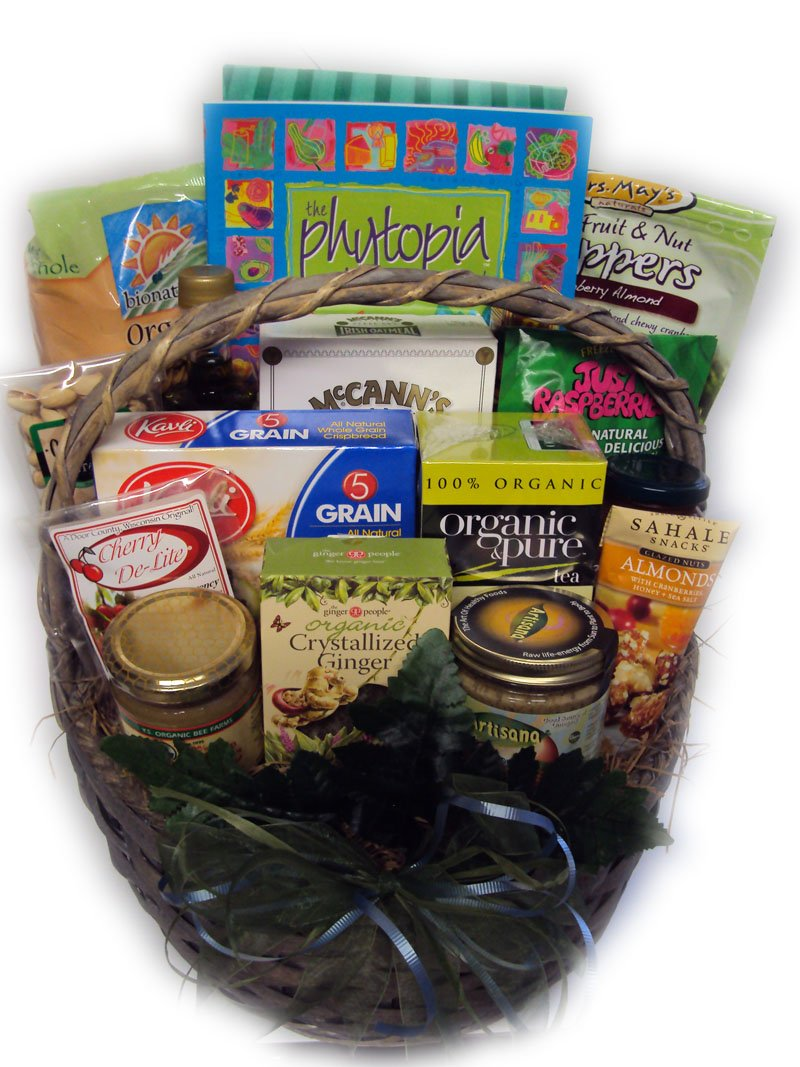 Low-Sodium Heart-Healthy Get Well Gift Basket by Well Baskets by Well Baskets