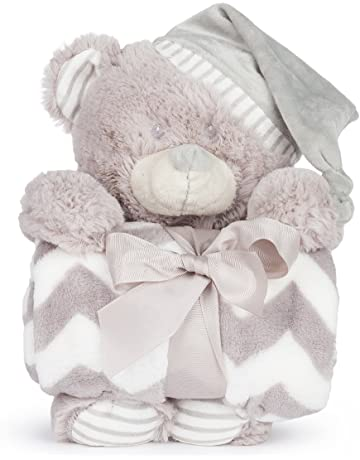 Muñeco Peluche con Manta Bebé