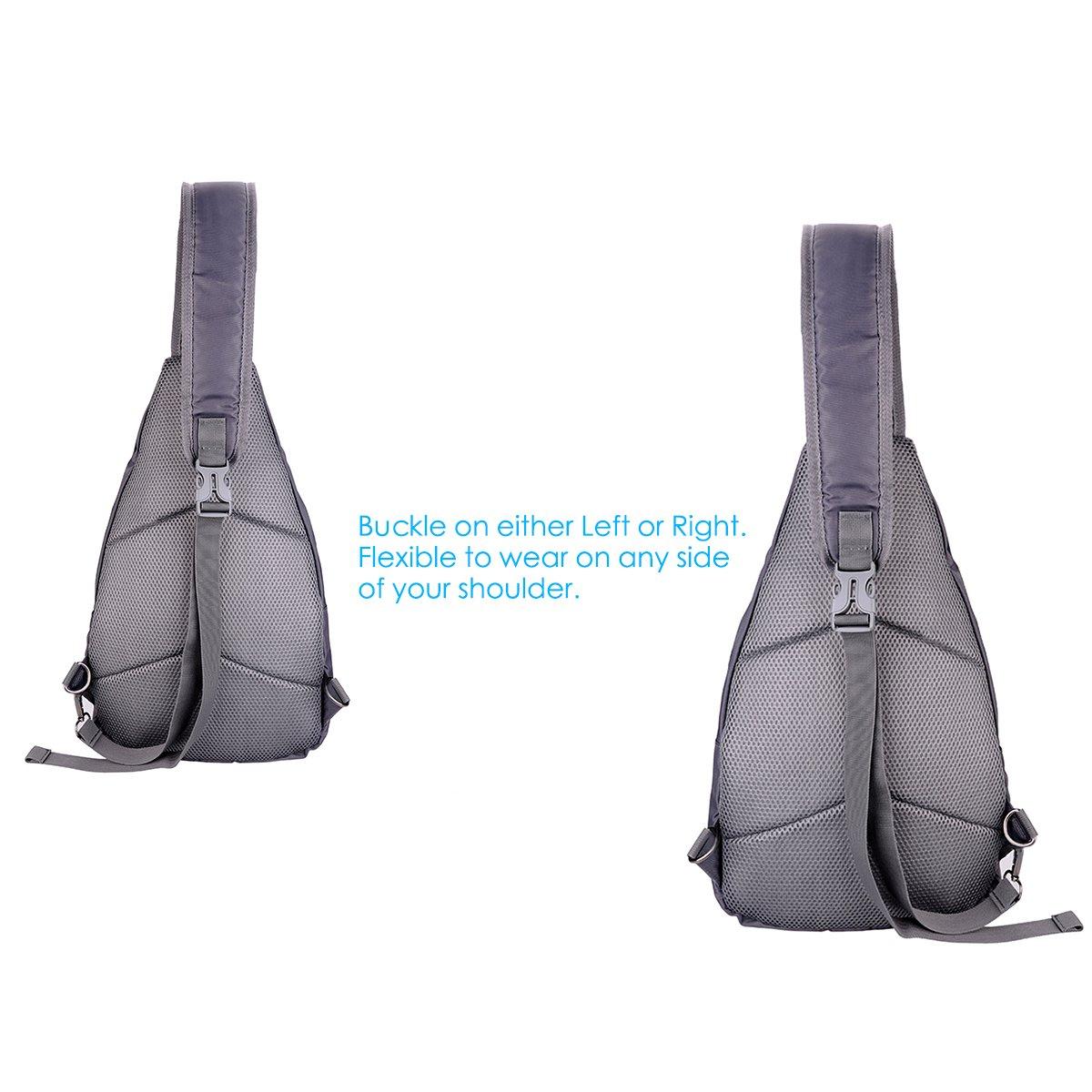 a3542ec017a0 LC Prime Sling Bag Chest Shoulder Unbalance Gym Fanny Backpack Sack ...