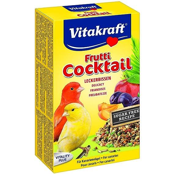 Vitakraft - Cóctel de frutas para canarios (200g/Variado): Amazon.es: Ropa y accesorios