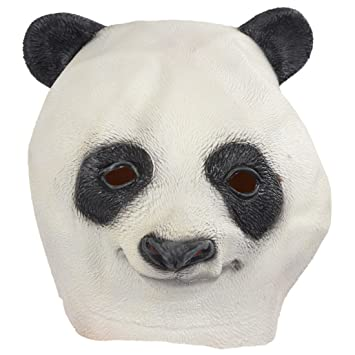Mascara de Latex Animal - SODIAL(R)Latex Animal Cabeza de Panda Mascara Halloween