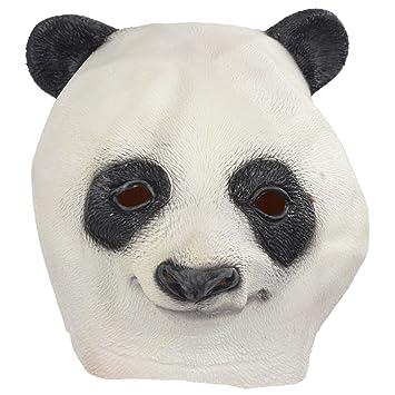 Mascara de Latex Animal - SODIAL(R)Latex Animal Cabeza de Panda Mascara Halloween