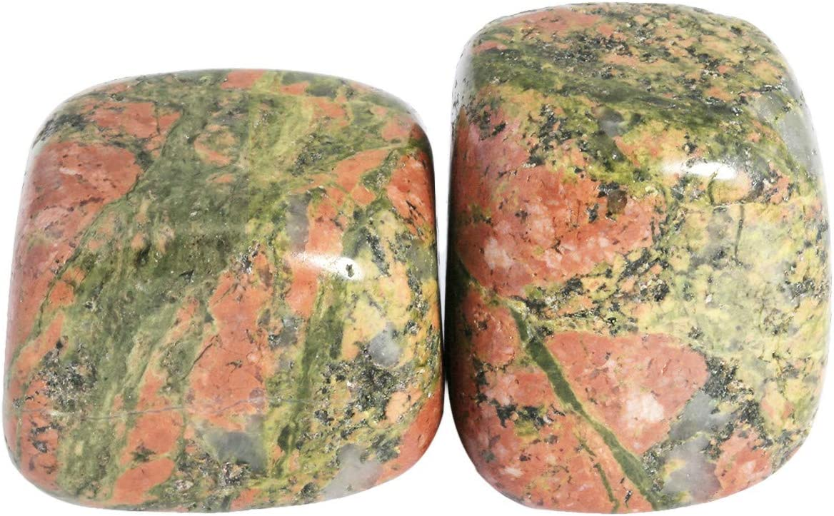 mookaitedecor - Piedras para decoración de jardín (460 g, irregularmente, pulidas, para cicatrizar, meditación, Reiki, Wicca)