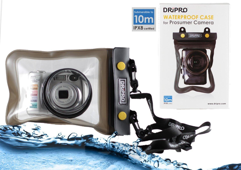 Navitech housse étui étanche pour appareil photo numérique avec lentille extérieure, compatible Sony DSC HX60 / DSC HX90 / DSC HX50 / DSC HX80