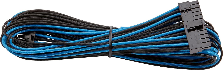 SF Series Type 4 PSU Male//Male Corsair Internal Black Power Cable 24pin ATX Blu//Nero RMi Series RMX Series