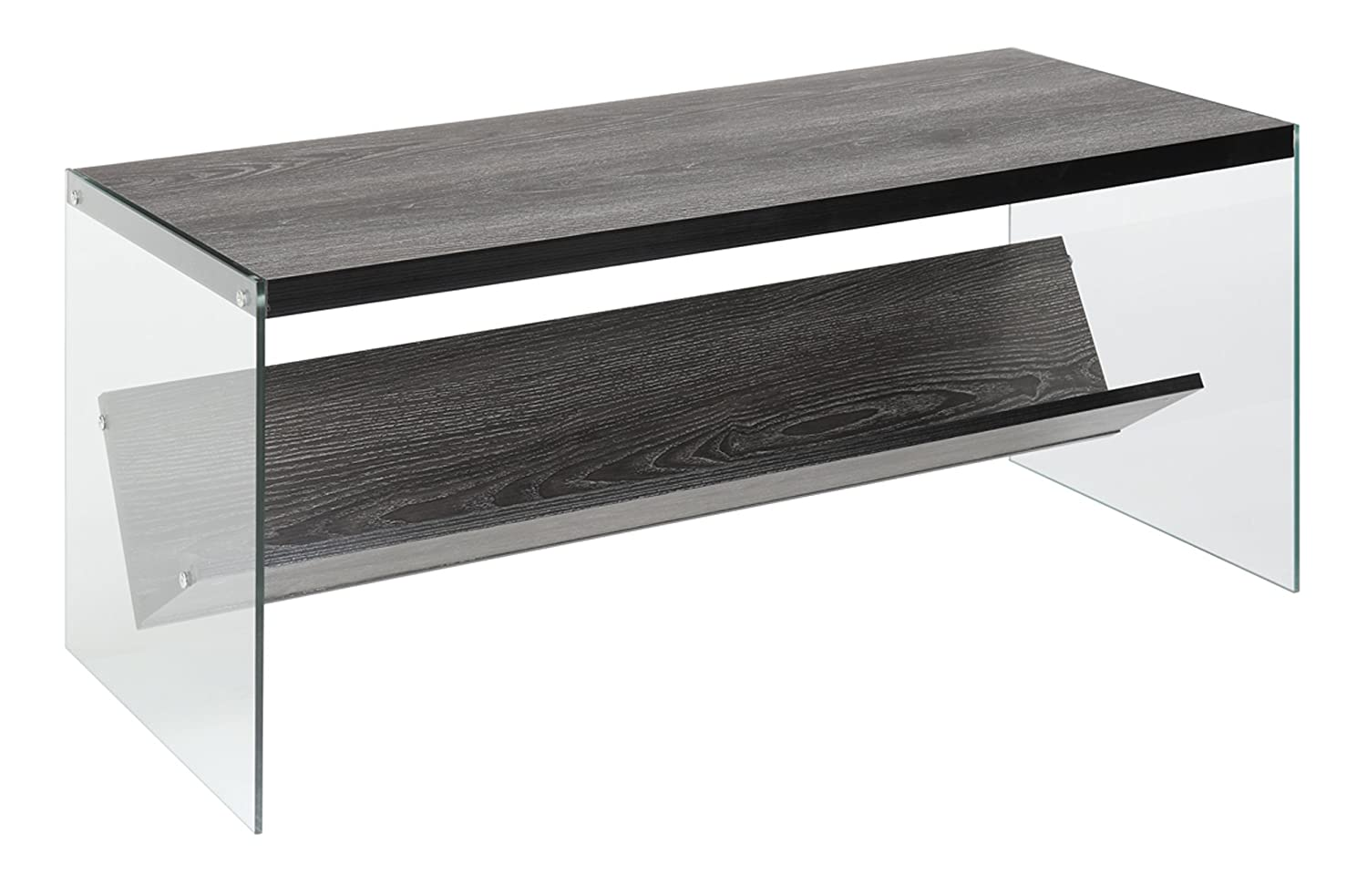 Convenience Concepts SoHo Coffee Table, Weathered Gray 131557WGY