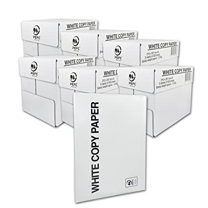 15000 X Papel A4 80 g color blanco - Papel para impresora ...