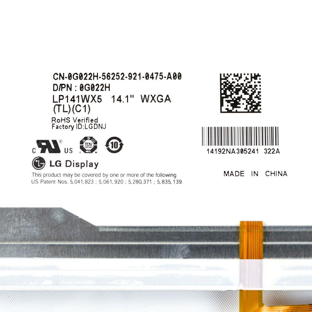 Dell Latitude E6400 LCD Screen M2400 LED G022H WXGA 14.1 LP141WX5 ...