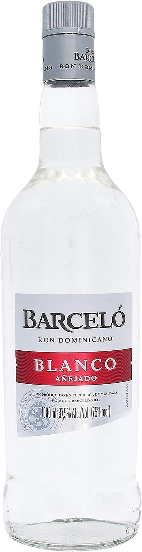 BARCELO RON DOMINICAN BLANCO 1 LITRO: Amazon.es: Alimentación ...