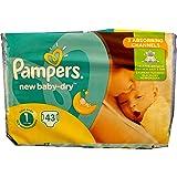 Menge 43-688 Stück Pampers Windeln New Baby DRY Gr. 1. (Gewicht: 2-5KG) NEWBORN