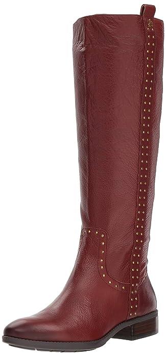 3a46d1d2f2c2 Sam Edelman Women s Prina Knee High Boot Redwood Brown Leather 5 ...