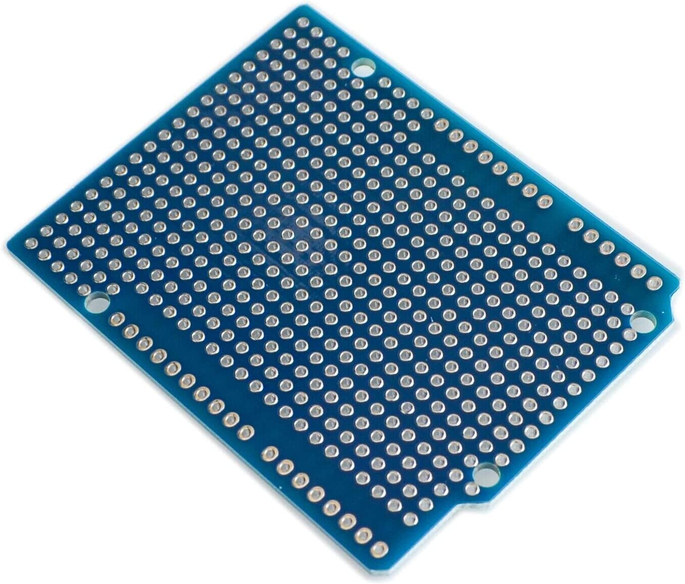 TD-ELECTRO 10PCS//LOT Prototype PCB Expansion Board for Arduino ATMEGA328P UNO R3 Shield FR-4 Fiber PCB Breadboard 2mm 2.54mm Pitch