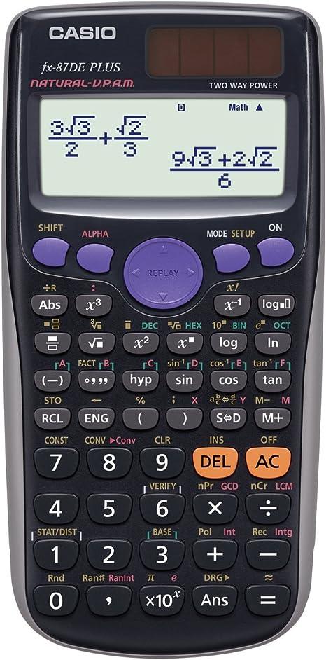 Casio FX-87DEPLUS-2 Wissenschaftlich-Technischer Schulrechner