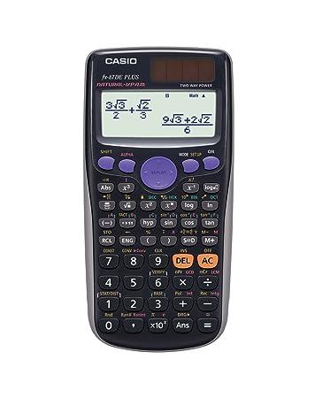 Casio Fx 87de Plus Wissenschaftlicher Taschenrechner Schwarz