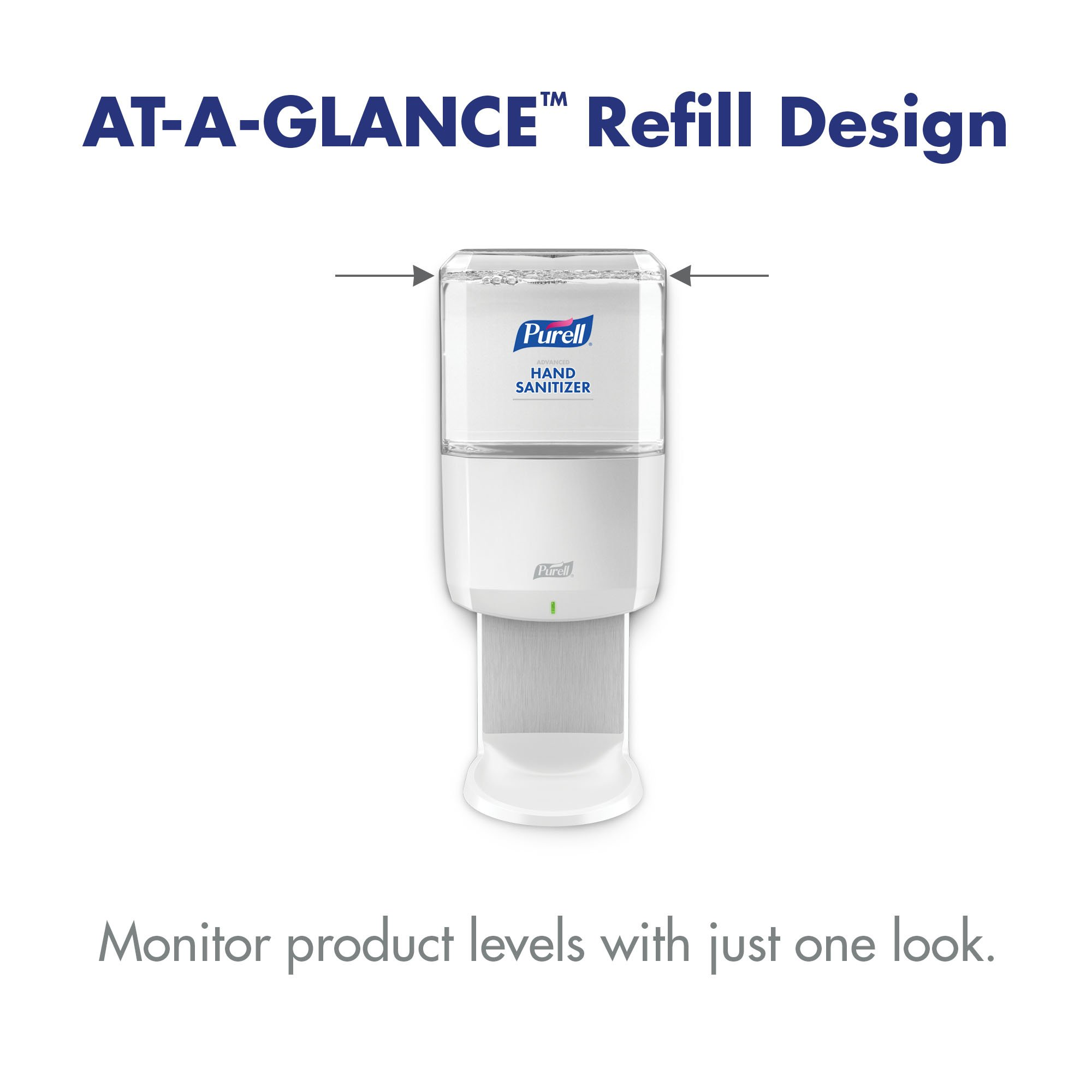 PURELL Professional Advanced Hand Sanitizer Foam Refill, 1200mL Refill for ES6 Hand Sanitizer Dispenser - by Purell (Image #5)